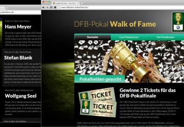 """Miniaturbild zu Projekt DFB Pokal """"Walk of Fame"""""""