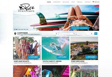 Miniaturbild zu Projekt PURE Surfcamps