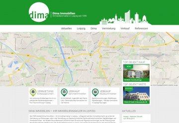 Miniaturbild zu Projekt Dima Immobilien Version 2