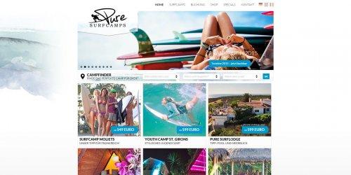 Diese Seite enthält detaillierte Informationen über das Projekt: PURE Surfcamps