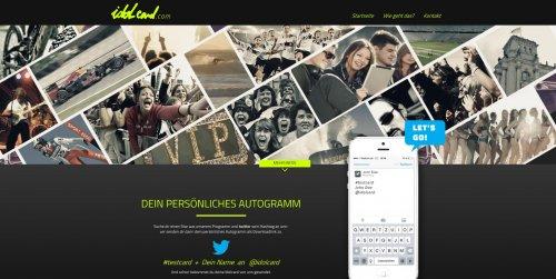 Diese Seite enthält detaillierte Informationen über das Projekt: Idolcard