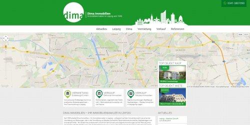 Diese Seite enthält detaillierte Informationen über das Projekt: Dima Immobilien Version 2