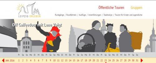 Diese Seite enthält detaillierte Informationen über das Projekt: Leipzig Erleben Relaunch 2016