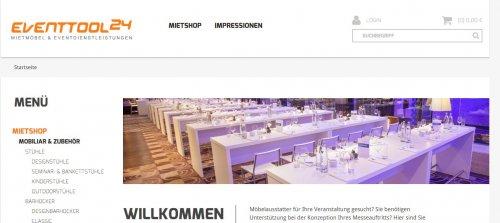 Diese Seite enthält detaillierte Informationen über das Projekt: Relaunch Eventtool24.com