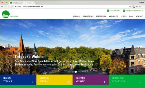 Diese Seite enthält detaillierte Informationen über das Projekt: Dima Immobilien 3.0