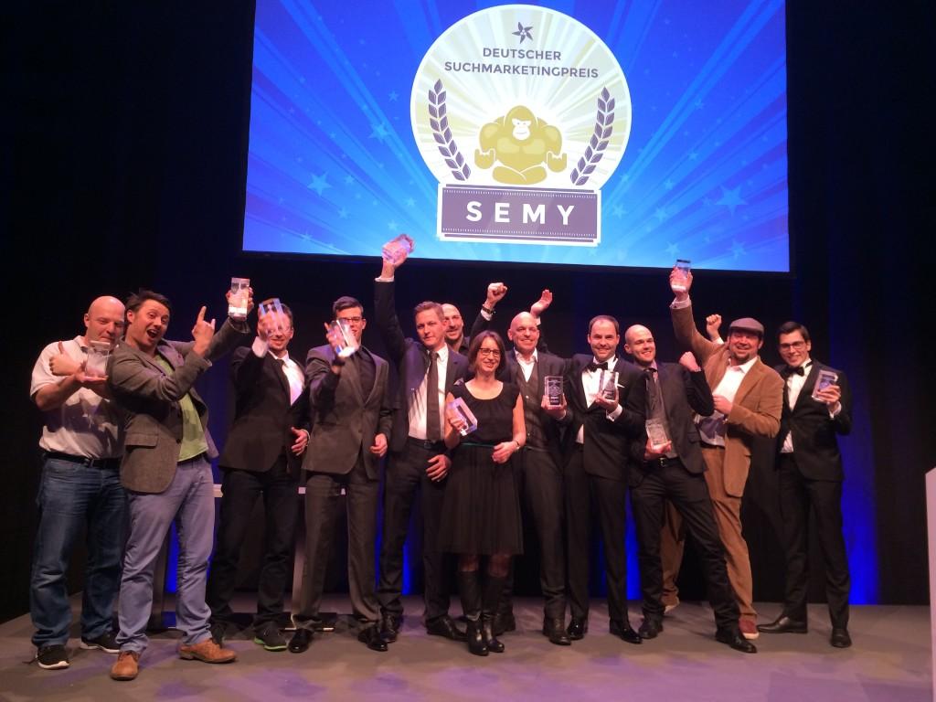 Gewinner der SEMY Awards 2015