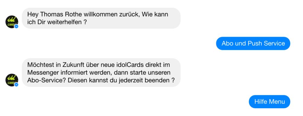 facebook-messenger-bot-abo-service-anmeldung