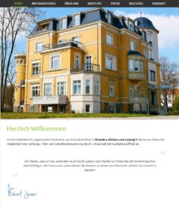 Startsteite von Kavitation24.de