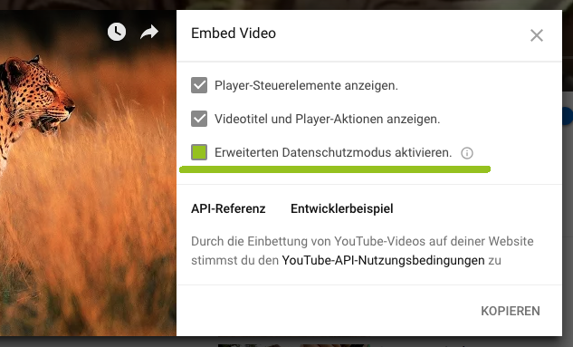 YouTube-Video einbinden