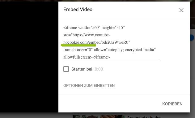 YouTube-Video einbinden
