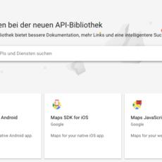 Diesen Artikel lesen: Google Maps – API Schlüssel, Nutzungsbedingungen …